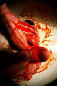 bloodyfeet